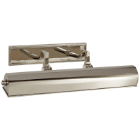 """Dean 18"""" Picture Light in Polished Nickel"""