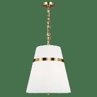Cordtlandt Large Pendant Burnished Brass