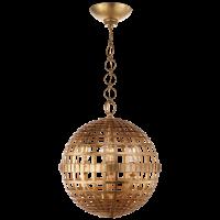 Mill Small Globe Lantern in Gild