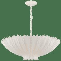 Hampton Large Chandelier in Plaster White