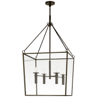 Cochere Large Lantern in Bronze