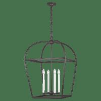 Stonington Large Lantern Smith Steel