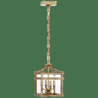 Mykonos Mini Lantern in Gilded Iron
