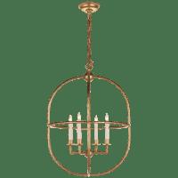 Desmond Open Oval Lantern in Gild