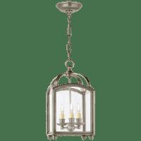 Arch Top Mini Lantern in Antique Nickel