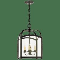 Arch Top Small Lantern in Bronze