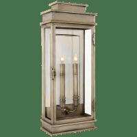 Linear Lantern Tall in Antique Nickel