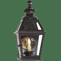 Chelsea Small 3/4 Wall Lantern in Bronze