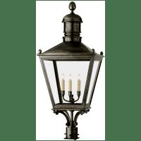 Sussex Large Post Lantern in Bronze