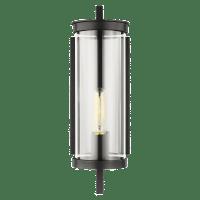 Eastham Small Wall Lantern Textured Black