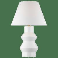 Abaco Large Table Lamp Arctic White Bulbs Inc