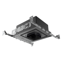 "3"" ELEMENT New Construction Adjustable Square Flanged Housing, LED Warm Dim, 40, High Output"