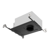 "3"" ENTRA New Construction Adjustable Square Housing 90 CRI, LED 2700K, High Output"