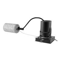 """3"""" ENTRA Square Adjustable & Wall Wash Remodel Housing 90 CRI, LED 2700K, Low Output"""