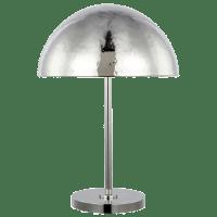 Whare Table Lamp Polished Nickel Bulbs Inc