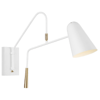 Simon Sconce Matte White