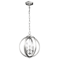 Corinne Small Pendant Polished Nickel