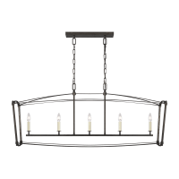Thayer Linear Chandelier Smith Steel