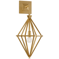 Afton Single Sconce in Gild
