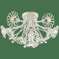Keaton Bouquet Flush Mount in Light Cream