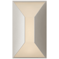 Stretto Small Sconce in Polished Nickel with Frosted Glass