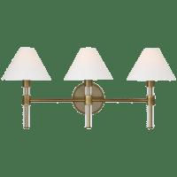 Robert 3 - Light Vanity Time Worn Brass