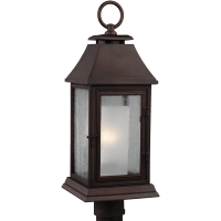 Shepherd Post Lantern Heritage Copper