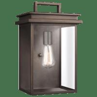 Glenview Medium Lantern Antique Bronze