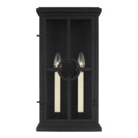 Belleville Medium Lantern Textured Black
