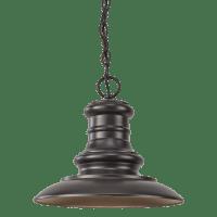Redding Station LED Pendant Restoration Bronze Bulbs Inc