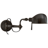 RL '67 Swing Arm Wall Lamp in Bronze