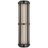 Perren Medium Wall Sconce in Bronze and Glass Rods