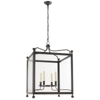 Greggory Large Lantern in Bronze