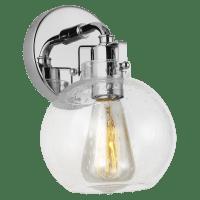 Clara 1 - Light Sconce Chrome