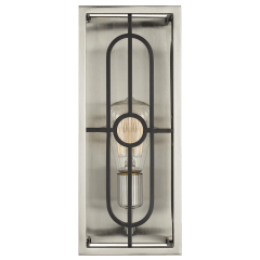 Rennie One Light Wall Sconce Brushed Nickel