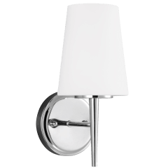 Driscoll One Light Wall / Bath Sconce Chrome