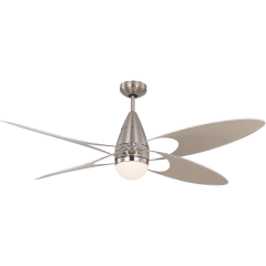 Butterfly 54 LED - Brushed Steel