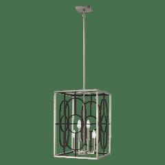 Rennie Medium Four Light Hall / Foyer Brushed Nickel