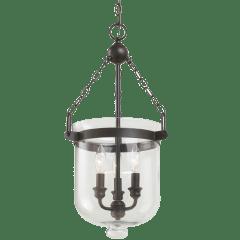 Westminster Small Three Light Pendant Autumn Bronze Bulbs Inc