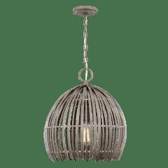 Hanalei Medium One Light Pendant Washed Pine