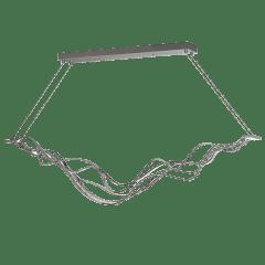 Surge Linear Suspension satin nickel 3000K 90 CRI led 80 cri 3000k 120v