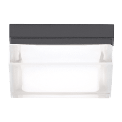 Boxie Small Outdoor Wall/Flush Mount Small charcoal 3000K 90 CRI