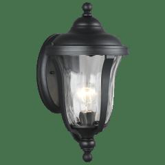 Perrywood Small One Light Outdoor Wall Lantern Black Bulbs Inc