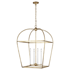 Stonington Large Lantern Antique Gild