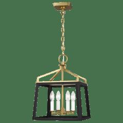 Carlow Medium Lantern Midnight Black