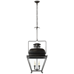 Holborn Large Lantern in Aged Iron