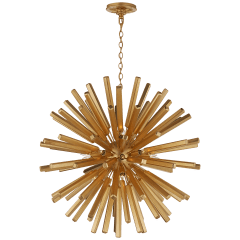 Lawrence Medium Sputnik Chandelier in Gild