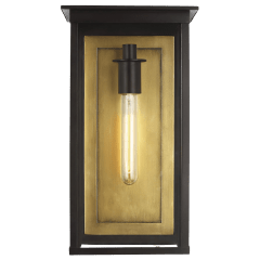 Freeport Large Outdoor Wall Lantern Heritage Copper