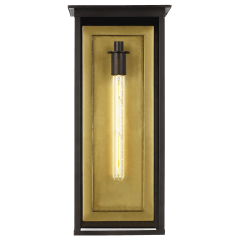Freeport Extra Large Outdoor Wall Lantern Heritage Copper