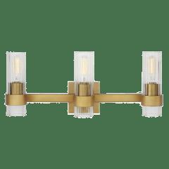 Geneva 3 - Light Vanity Burnished Brass